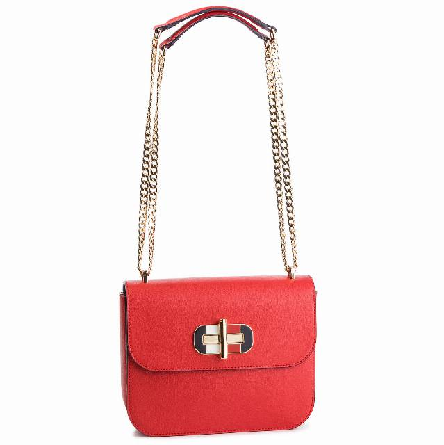 Torebka TOMMY HILFIGER - Turnlock Crossover AW0AW06400 614
