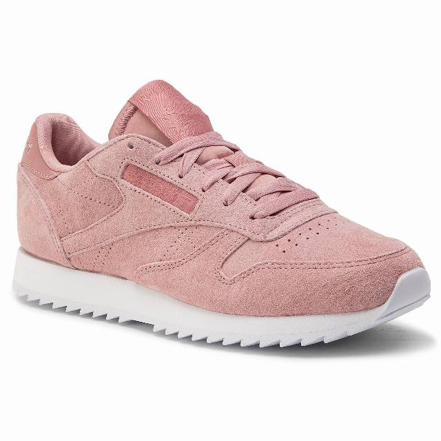 Buty Reebok - Cl Lthr Ripple DV3636 Smoky Rose/White
