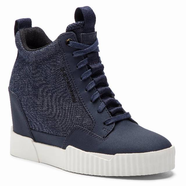 Sneakersy G-STAR RAW - Rackam Wedge Sneaker D12456-8936-6486 Dk Saru Blue