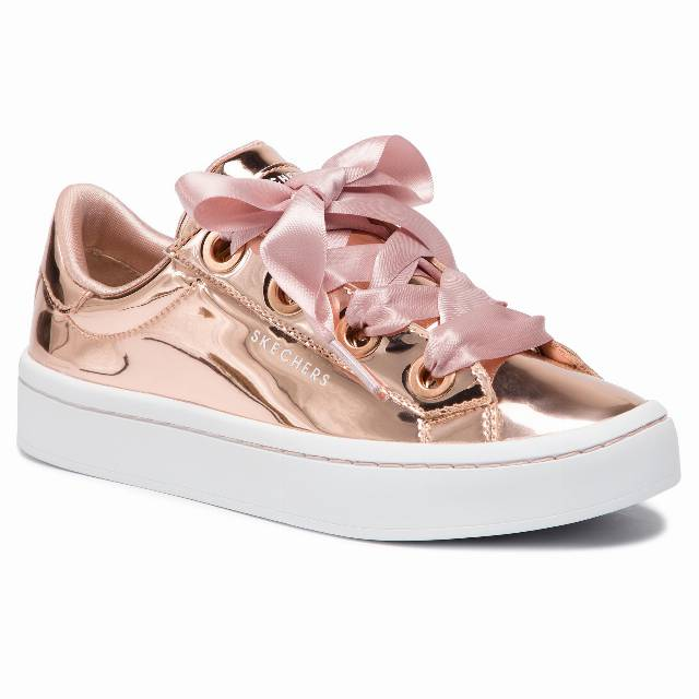 Sneakersy SKECHERS - Liquid Bling 958/RSGD Rose Gold