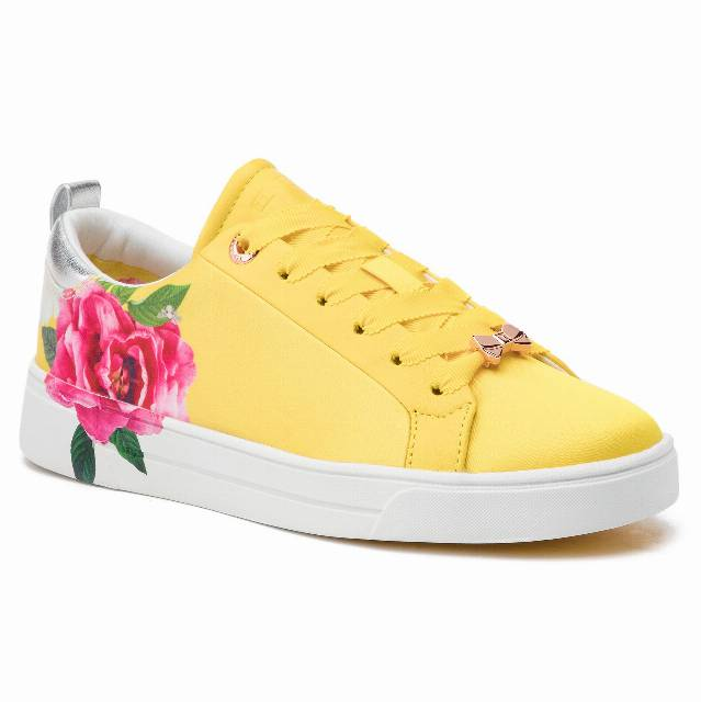Sneakersy TED BAKER - Rialy 9-18421 Magnificent Yellow