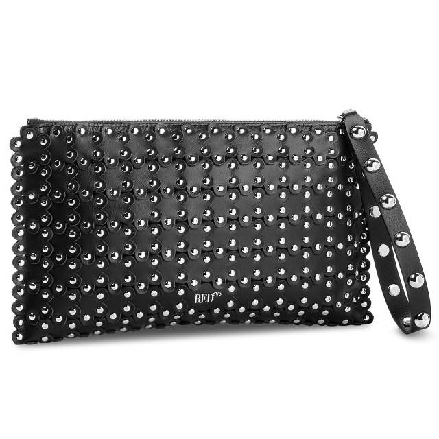 Torebka RED VALENTINO - Clutch PQ0B0738 Nero 0NO