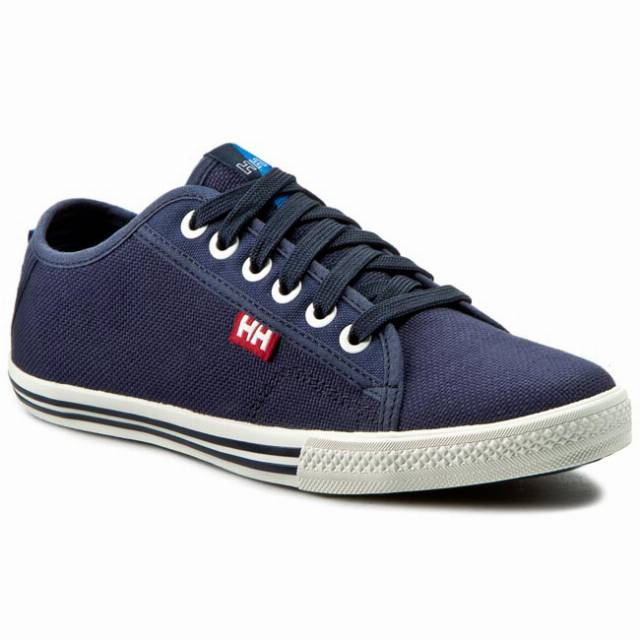 Tenisówki HELLY HANSEN - Oslofjord Canvas 108-36.597 Navy/White