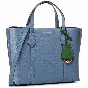 Torebka TORY BURCH - Perry Small Triple-Compartment Tote 56249 Bluewood 457