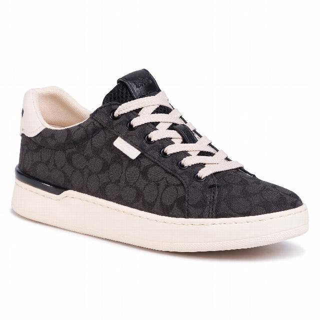 Sneakersy COACH - Lowline Sig Low Top G5037 10011275 Black