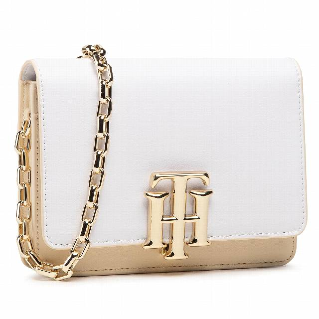 Torebka TOMMY HILFIGER - Th Lock Mini Crossover Cb AW0AW09654 ACK