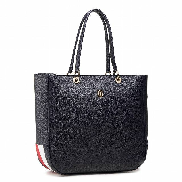 Torebka TOMMY HILFIGER - Th Essence Tote Corporate AW0AW09699 DW5