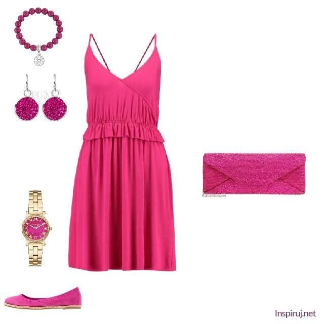 Total look fuksia