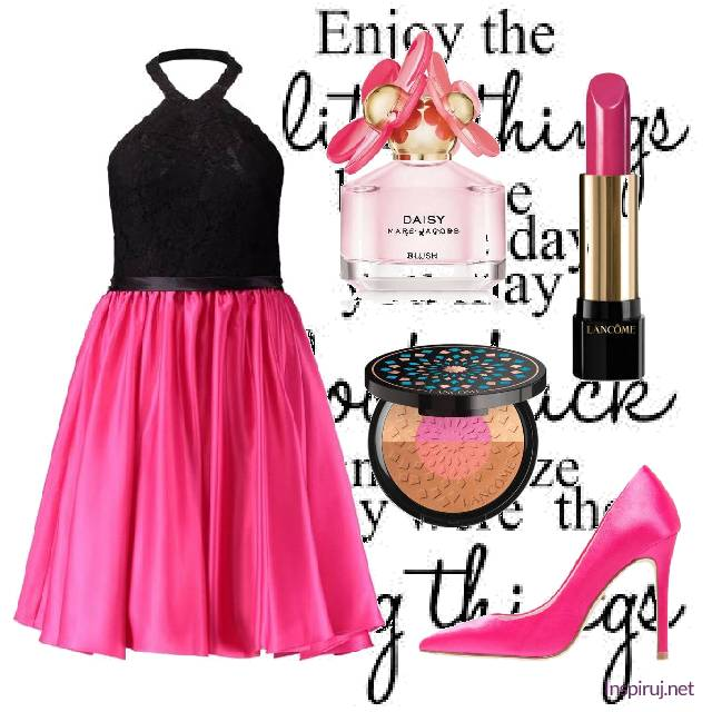Party look in pink