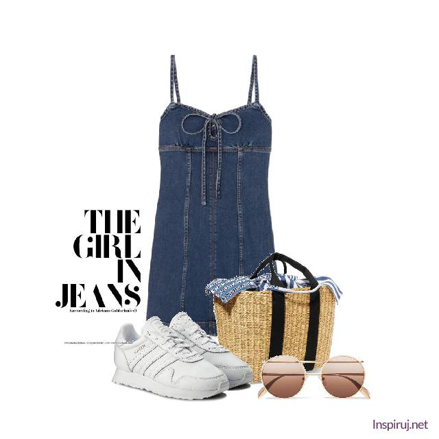 Girl in the jeans