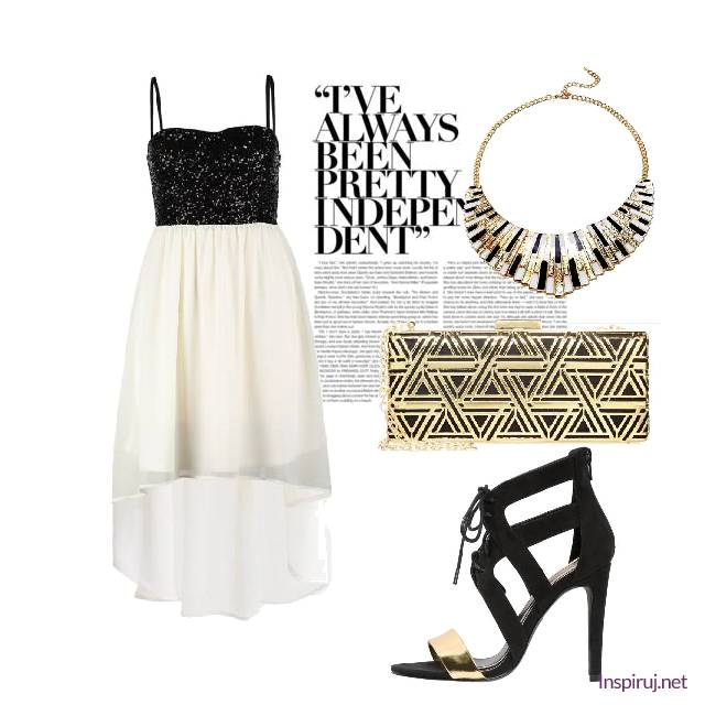 black/white/gold